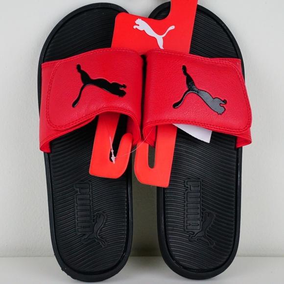 3620187e8e1468 Puma Slide Sandal Men Size 8 Tiger Logo Slippers